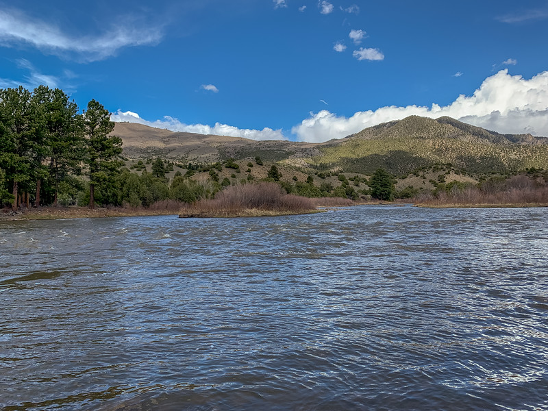 The Colorado River near Radium, Colorado, on April 26, 2019. Photo by Mitch Tobin/The Water Desk