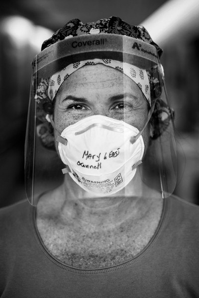 Newton-Wellesley hospital responds to the COVID-19 pandemic on May 28, 2020. Photo by Adam Glanzman for Newton-Wellesley Hospital