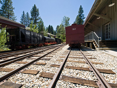 2007.07.22 Nevada County Narrow Gauge Railroad Museum
