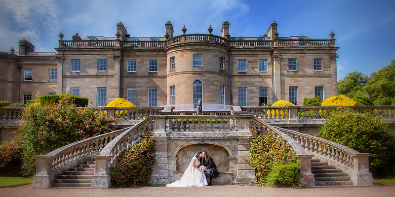 Manderston House Wedding