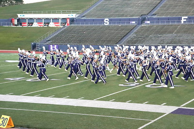 Center High School Roughrider Band at 2018 UIL Region 21 Marching Contest