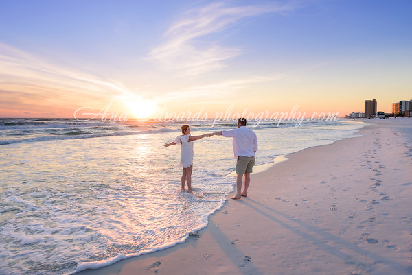 Mr. and Mrs. Briggs  |  Panama City Beach