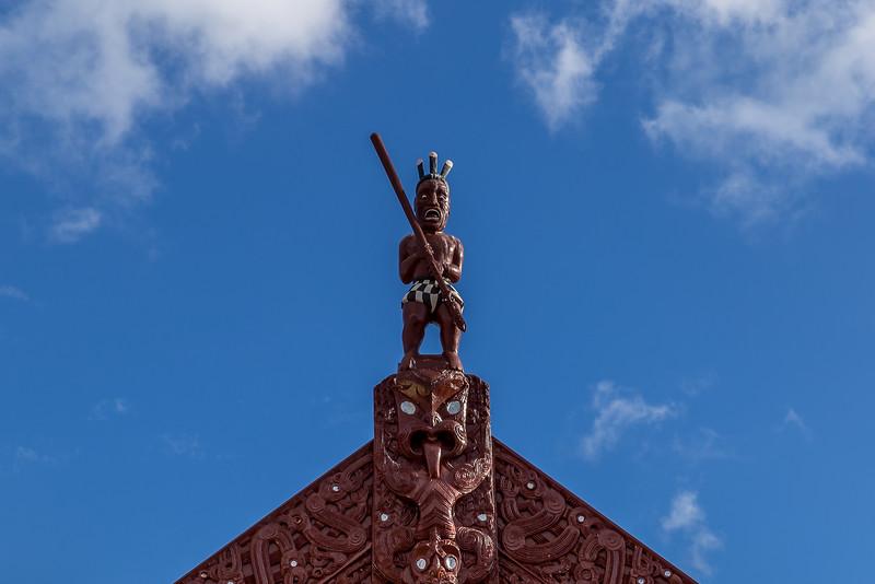 Figur in Ohinemutu