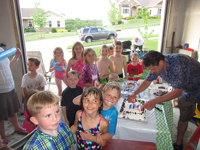 Abraham's 8th Birthday