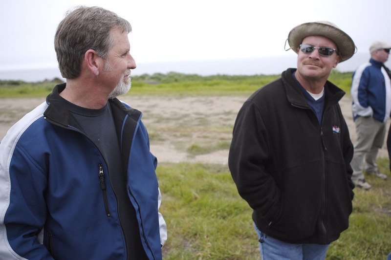 Dave Reese and Tim Cone discuss windy subjects