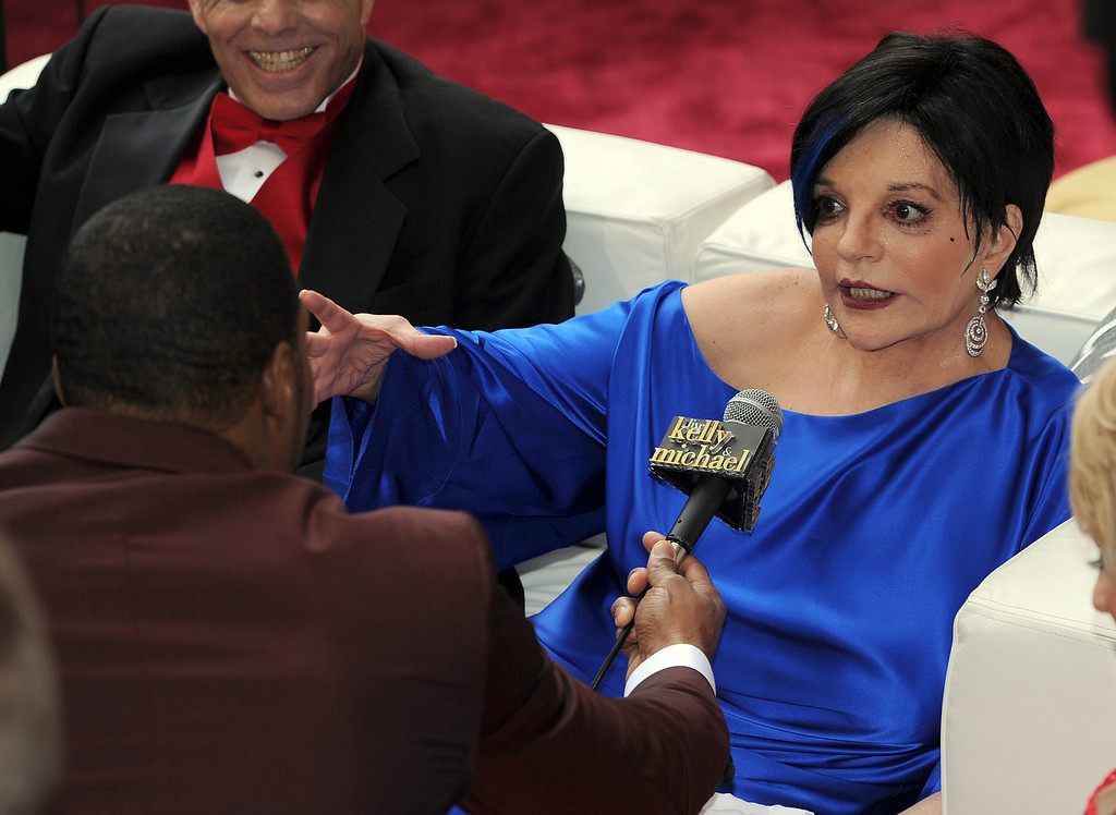 . Liza Minnelli at the 86th Academy Awards at the Dolby Theatre in Hollywood, California on Sunday March 2, 2014 (Photo by John McCoy / Los Angeles Daily News)