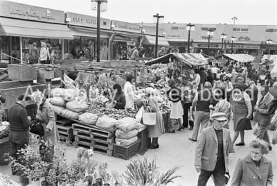 Friars Square market, Sep 1977