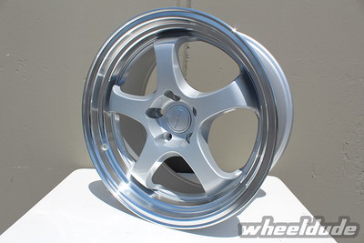 18x9.5 Rota D2-EX in Royal Silver