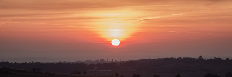 2019 - Ashdown Forest sunset 005