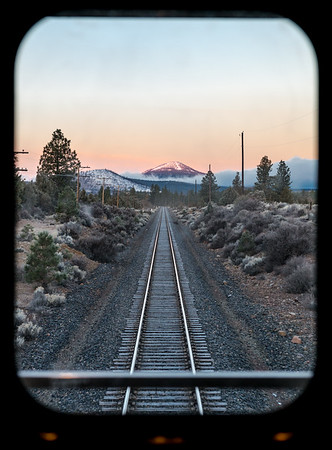 Train from CA to OR