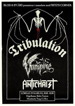 TRIBULATION - Blod & Svärd, Kägelbanan 29/3 2014
