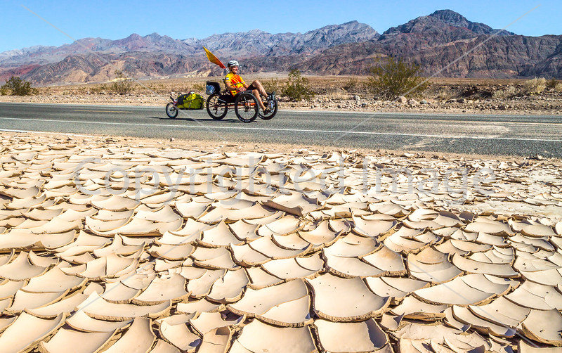 Recumbent Trike in Death Valley National Park  #2