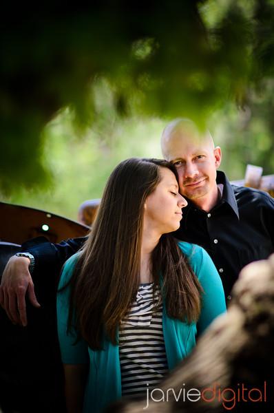Engagement photos at Wheeler Historic Farm (Chronological)