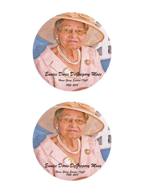 Eunice Moss Label