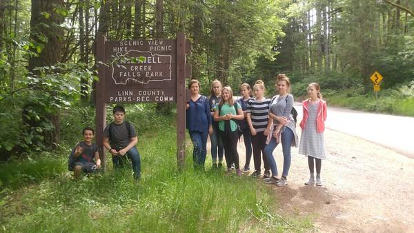 2019-06-04 Seventh Grade Field Trip