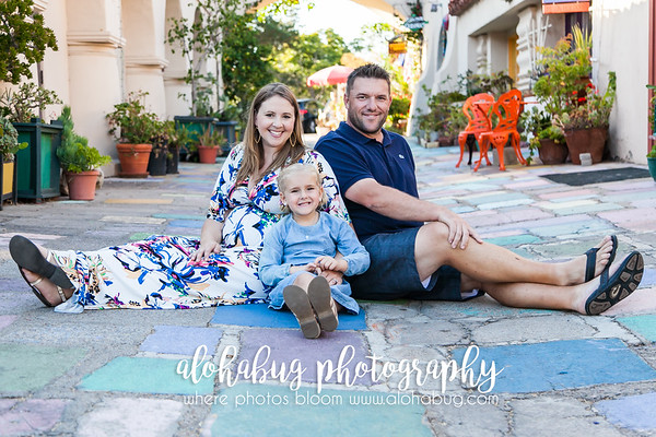 Amber + Family, Balboa Park Photographer