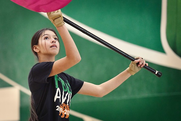 POLY WINTER GUARD- PRACTICE 2020