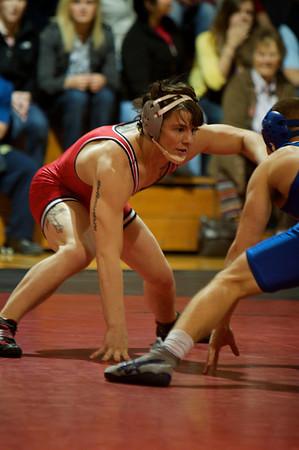 Wrestling vs Duke Jan 2011