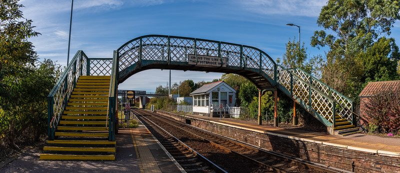 Acle Signalbox & Footbridge