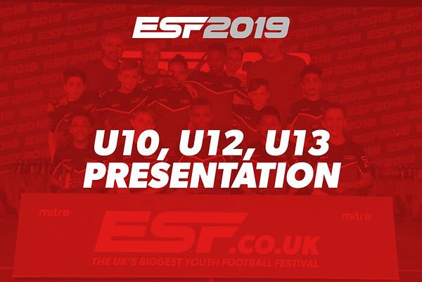 U10, U12, U13 PRESENTATION