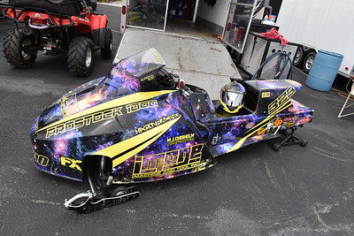 Snowmobile Pits & Staging Lanes