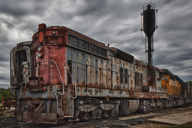Southern Pacific 1518 - Normal Perspective