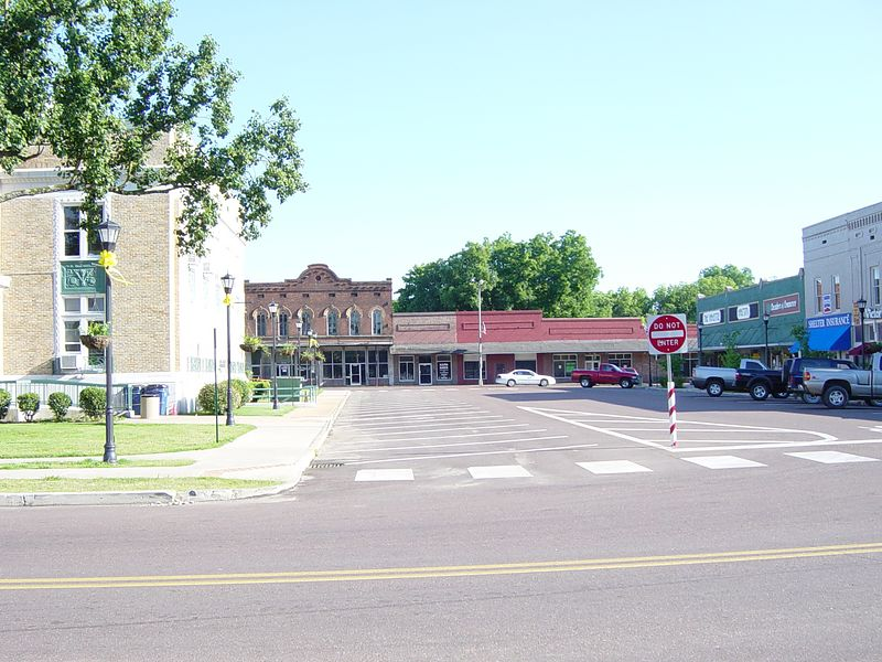 Town Square, Somerville, Tennessee