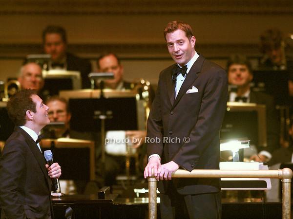 Michael Feinstein, Steve Reineke  photo by Rob Rich © 2010 robwayne1@aol.com 516-676-3939