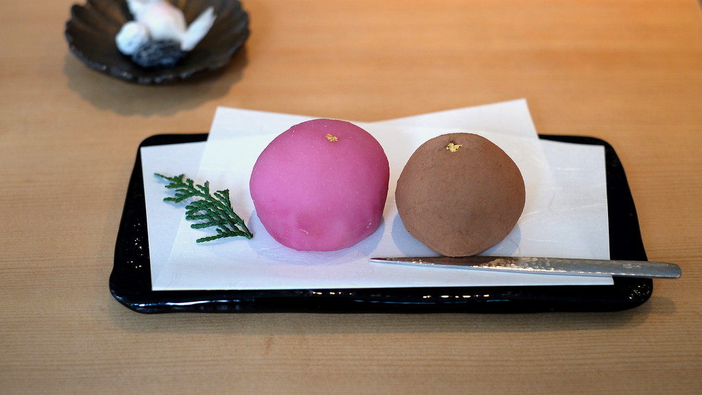 Framboise and water chocolate daifuku.