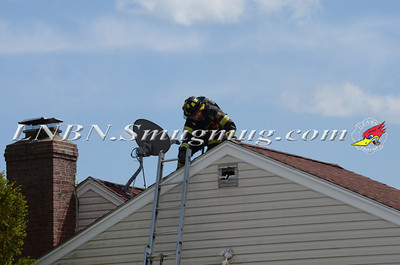 Massapequa F.D. House Fire 266 Division Ave 5-26-13