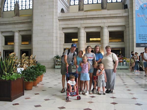 Family Trip to Washington DC