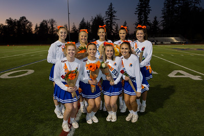 EC Cheer Senior  Night Photos