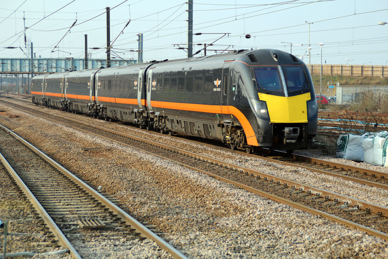 180107 1720 Grand Central Service to Kings Cross.