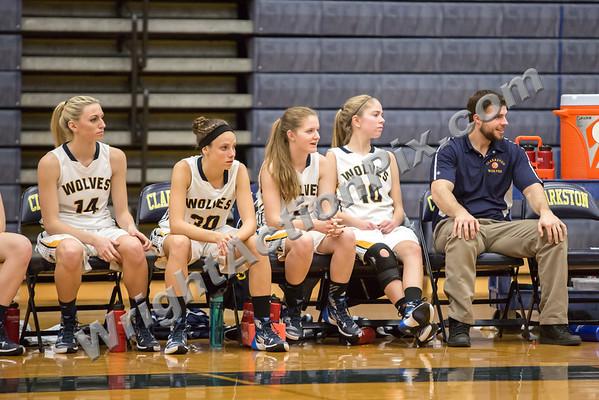 2015 12 16 Clarkston Varsity Girls Basketball vs North Farmington
