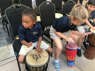 Field Trip- Giving Tree Drum Circle