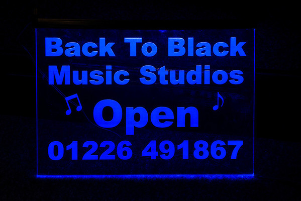 2013 March Back to Black Music Studios