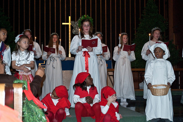 Salem Lucia Pagent - Friday