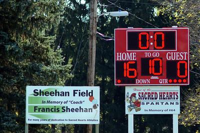 Sacred Hearts Football vs Warner Park - October 2010