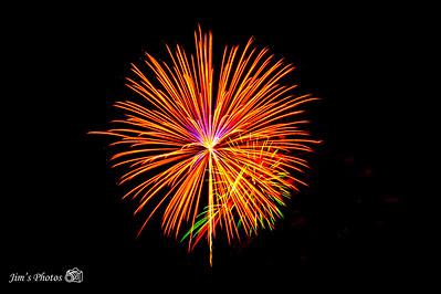 Fireworks - Merrimac, WI [d] July 05, 2019