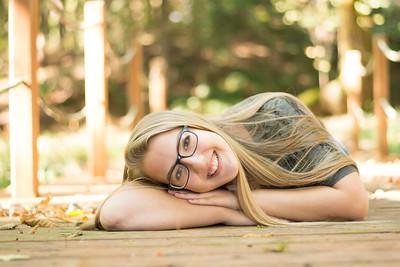 Megan Senior photo shoot