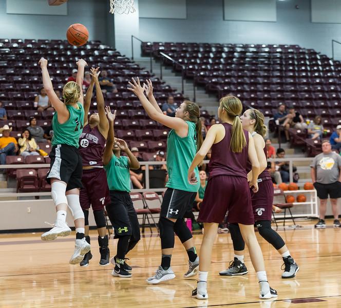 Lady Lopes Summer Basketball vs Idalou, 6-20-2017