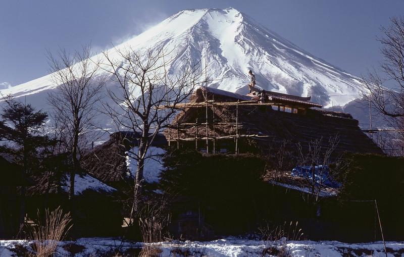 Fujiyama, in the 70s