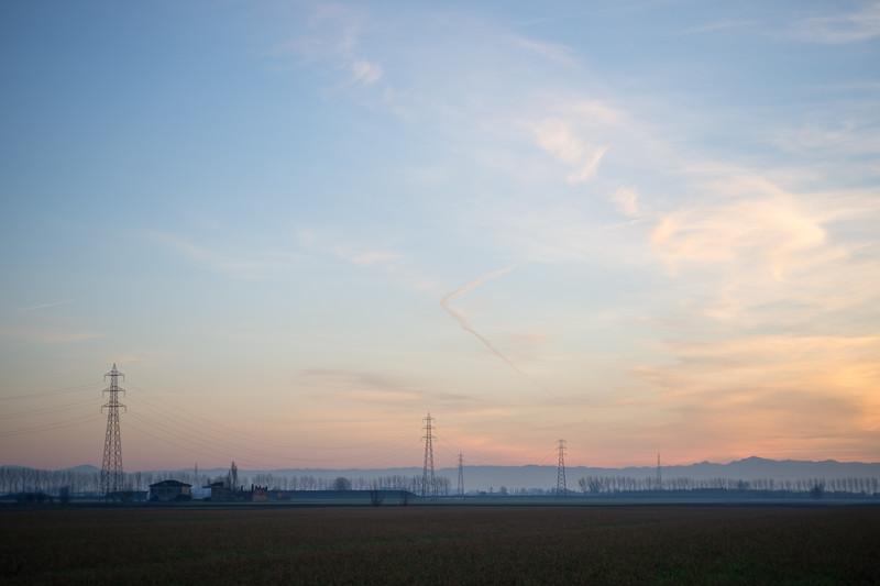 Evening Twilight - Nonantola, Modena, Italy - March 31, 2015