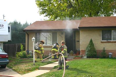 Pine Ridge Basement Fire