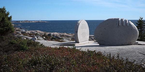 Sunday 6 October 2019 : Whalesback; Swissair Flight 111 Memorial : 44.506429N 63.932924W