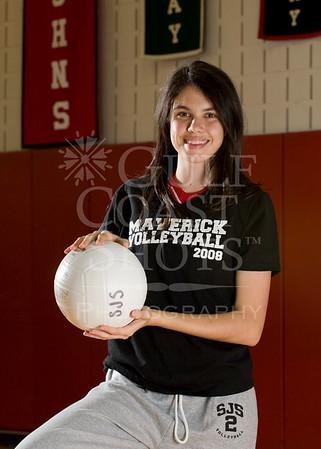 2008 VB Varsity Girls Portraits