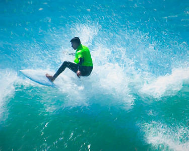 Surf Art 9081
