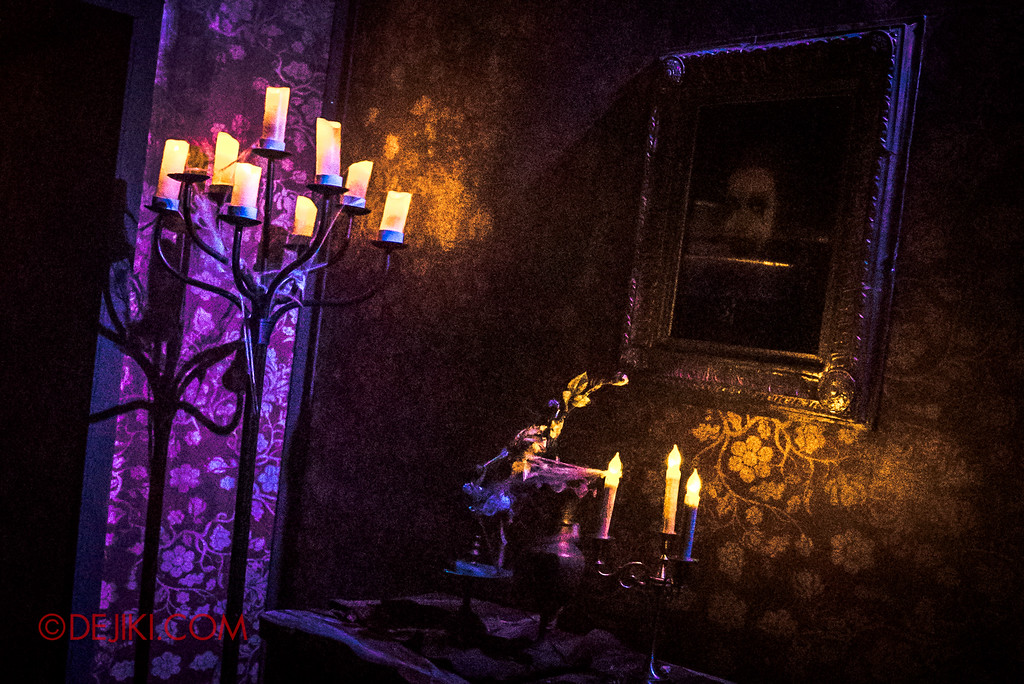 Halloween Horror Nights 6 - Salem Witch House / Portrait of Augusta