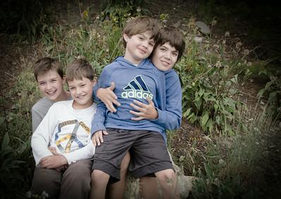 Four Guys Posing