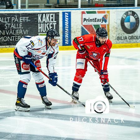 Hockeyettan Södra: Hanhals IF - Halmstad Hammers 2020-10-23